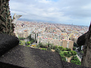 Us Propaganda Photos - Barcelona Cityscape from Sagrada Familia by Yuki Komura