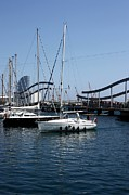 Travel Photography Originals - Barcelona Harbor by Sophie Vigneault