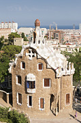 Parc Guell Prints - Barcelona Parc Guell Print by Matthias Hauser