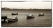 Boats In Water Prints - Barcos Print by John Rizzuto