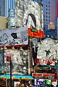Gwyn Newcombe - Bardot at Times Square
