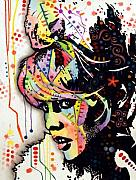 Woman Mixed Media - Bardot by Dean Russo