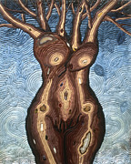Woman Reliefs - Bare Branches by Arla Patch