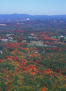 """autumn Foliage New England"" Prints - Bare Mountain Foliage View Print by John Burk"