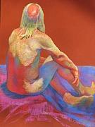 Award Pastels Originals - Barefoot Bill by Evelyn  M  Breit