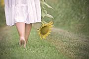 Barefoot Summertime Print by Marta Nardini