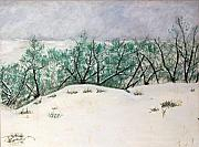 Snow Pastels - Baring the winter by Jack Spath