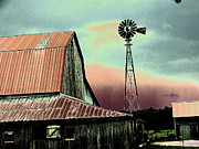 Linda Francis - Barn and Windmill