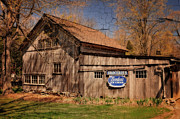 Old Barn Posters - Barn Art - Northville Connecticut Poster by Thomas Schoeller