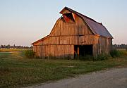 Arkansas Art - Barn at Early Dawn by Douglas Barnett