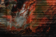 Barn Digital Art Prints - Barn Burning Print by Jack Zulli