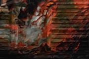 Barn Burning Print by Jack Zulli
