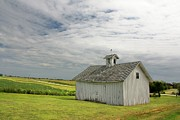 Rural Indiana Prints - Barn Print by David Milliner
