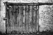 Barn Door Print by Georgia Fowler
