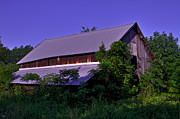Old Farm Shed Originals - Barn HDR by Jason Blalock