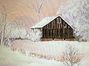 Janet Glatz - Barn in Snow