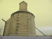 Nebraska. Photo Posters - Barn of Sarpy County Poster by Christine Belt