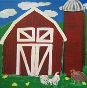 Eva  Dunham - Barn on the Farm