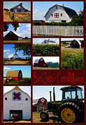 Quilts Digital Art - Barn Quilts in Central Missouri by Dennis Weiser
