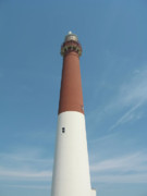 Lighthouse Digital Art - Barnegat Lighthouse - New Jersey by Bill Cannon