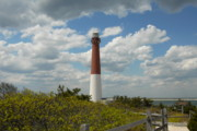 Barnegat Inlet Photo Posters - Barnegat Lighthouse 20 Poster by Joyce StJames