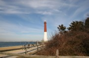 Barnegat Inlet Photo Posters - Barnegat Lighthouse 9 Poster by Joyce StJames