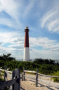 Barnegat Inlet Photo Posters - Barnegat Lighthouse In Summer Poster by Joyce StJames