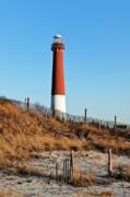 Barnegat Lighthouse Framed Prints - Barnegat Lighthouse NJ Framed Print by John Greim