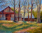 Ginger Concepcion - Barns in Spring