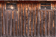 Wood Photo Prints - Barnside Number 3 Grand Tetons Print by Steve Gadomski