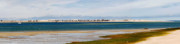 East Dennis Metal Prints - Barnstable Harbor Panorama Metal Print by Charles Harden