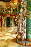 Library Digital Art - Barocke-Bavaria by John Galbo