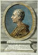 Enlightenment Posters - Baron De Montesquieu Poster by Granger