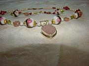 Gemstones Jewelry Jewelry - Baroque Rose by Deborah Lynch