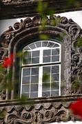 Baroque Style Window Print by Gaspar Avila