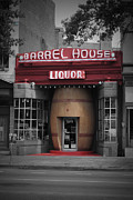 Wine Barrel Photos - Barrel House Liquor Store by Jost Houk