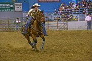 Straps Prints - Barrel Racer 3 Print by Sean Griffin