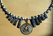 Barrel Racing Jewelry - Barrel Racer Necklace by Kim Souza