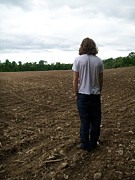 Cornfield Photos - Barren by Kelsey R Marquart
