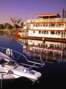 Old And New Prints - Barrie Waterfront Print by John  Bartosik