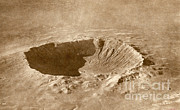 Impact Metal Prints - Barringer Crater Metal Print by Science Source