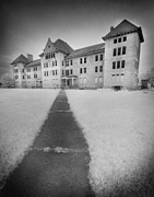 Movies Photo Originals - Bartonville Asylum by Phantasmagoria Photography