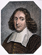 Benedict Framed Prints - Baruch Spinoza (1632-1677) Framed Print by Granger