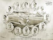 Baseball Game Framed Prints - Baseball, 1895 Framed Print by Granger