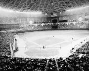 Scoreboard Framed Prints - Baseball: Astrodome, 1965 Framed Print by Granger