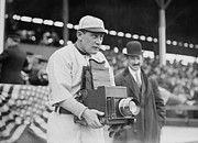 Baseball Cap Prints - BASEBALL: CAMERA, c1911 Print by Granger