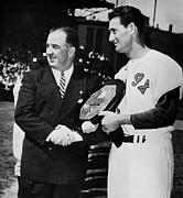 Baseball Commissioner Albert B Print by Everett