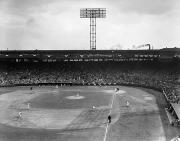 Baltimore Orioles Stadium Framed Prints - Baseball: Fenway Park, 1956 Framed Print by Granger
