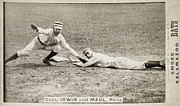 Slide Prints - BASEBALL GAME, c1887 Print by Granger