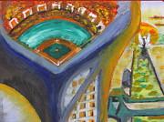 Baseball Heaven Print by Keith Cichlar